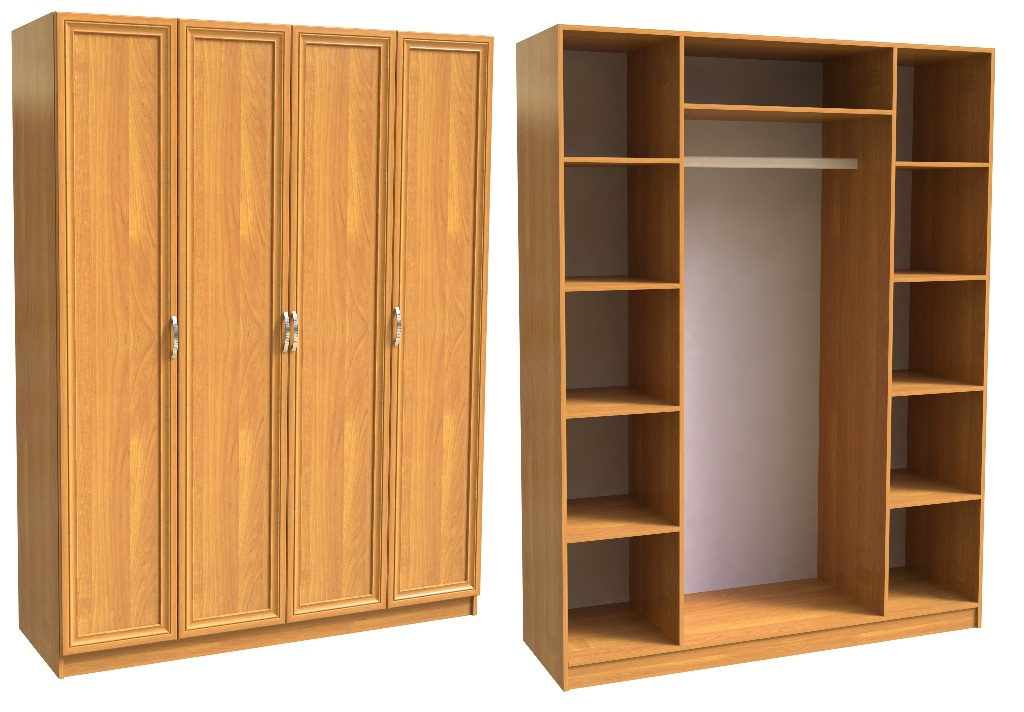 Шкаф распашной шк-4.