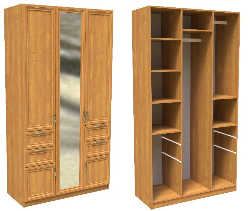 Шкаф феникс шк-3/3 - шкафы, шкафы купе, дешевые шкафы, купит.
