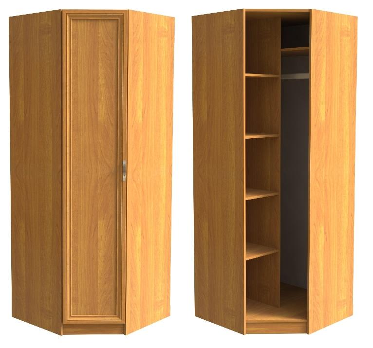 Шкаф угловой для одежды - купить гардеробы.